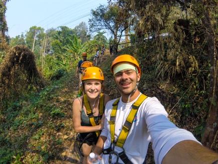 Travle to Chiang Mai for ziplining like us!
