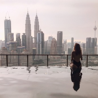 View from our place in Kuala Lumpur