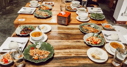 Thai Food: Our 5 Course Meal