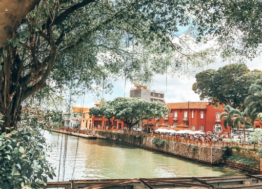 River Bank in Malacca
