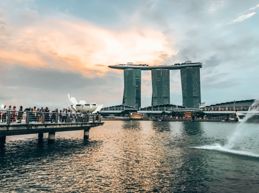 Singapore sunsets!